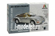 3680 Italeri 1/24 Автомобиль Porsche 911 Carrera America Roadster