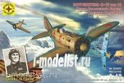 204802 Моделист 1/48 Истребитель И-16 тип 18 Героя Советского Союза Василия Голубева