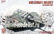 UA72081 Modelcollect 1/72 E-100 with Krupp Turret