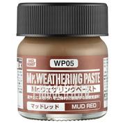 WP05 Gunze Sangyo Mr.Weathering Paste Mud Red