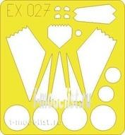 EX027 Eduard 1/48 Маска для F-117