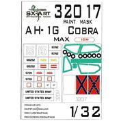 32017 SX-Art 1/32 Окрасочная маска AH-1G Cobra (ICM) Max