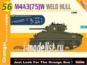 9156 Dragon 1/35 Американский танк M4A3(75)W WELDED HULL