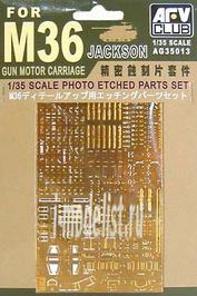 AG35013 AFVClub 1/35 Фототравление для танка M-36