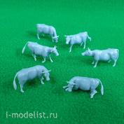5317 СВмодель 1/72 Коровы, набор 6 шт.