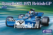 20008 Ebbro 1/20 Tyrrell 002 British GP 1971