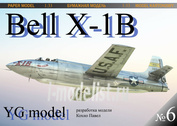 YG06 YG Models 1/33 Bell X-1B