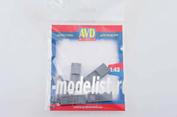 AVD143010602 AVD Models 1/43 АЗС, 2 шт