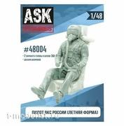 ASK48004 All Scale Kits (ASK) 1/48 Пилот ВКС России (летняя форма)+декали