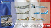 SH72414 Special Hobby 1/72 Mirage F.1 Duo Pack & Book