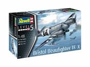 03943 Revell 1/48 Британский двухместный тяжелый истребитель Bristol Beaufighter TF. X