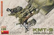 37040 MiniArt 1/35 Колейный Минный Трал КМТ-9