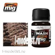 AMIG1002 Ammo Mig TRACKS WASH (Wash for trucks)