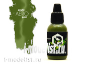 art.0155 Pacific88 airbrush Paint Green AMT-4 (Green AMT-4)