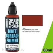 1888 Green Stuff World Матовая акриловая грунтовка цвет Красный 60 мл / Matt Surface Primer 60ml - Red