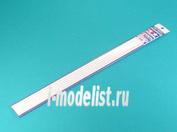 70134 Tamiya Пластиковые стержни (круглые белые матовые) диаметр 5мм, длиной 40см (6шт)