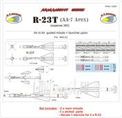 RVAC72007 R.V.AIRCRAFT 1/72 R-23T (изделие 360)