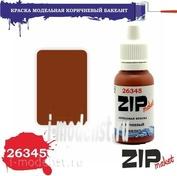 26345 ZIPmaket Краска акриловая Коричневая бакелит