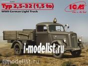 35401 ICM 1/35 Typ 2,5-32 (1,5 to), WWII German Light Truck