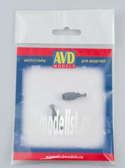 AVD143010002 AVD Models 1/43 Ацетиленовый генератор, 2 шт.