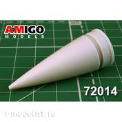 AMG72014 Amigo Models 1/72 MiGG-31B Radio Transparent Fairing