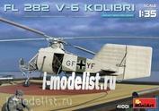 41001 MiniArt 1/35 Вертолёт Fl 282 V-6 Колибри