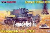 3541 Layout 1/35 Commander's tank PzBfwg 38t (Prague)