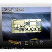 MD7209 Metallic Details 1/72 Набор для внутренней части палатки, тип 1