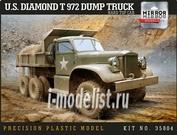 35804 Mirror-models 1/35 U.S. Diamond T 972 Dump Truck Hard Top Cab