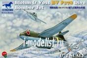 GB7001 Bronco 1/72 Blohm & Voss BV P178 Dive Bomber Jet.