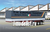 3908 Italeri 1/24 Брезентовый трейлер 40 футов (CLASSIC CANVAS TRAILER)