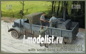 35007 IBG models 1/35 Einheitsdiesel with small field kitchen Hf.14