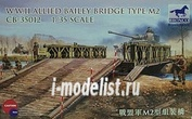 CB35012 Bronco 1/35 WWII Allied Bailey Bridge Type M2