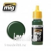 AMIG0023 Ammo Mig Краска акриловая PROTECTIVE GREEN (ЗАЩИТНЫЙ ЗЕЛЕНЫЙ)