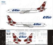 738-030 Ascensio 1/144 Декаль на самолет боенг 737-800 (UtAir Ukraine)