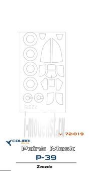 M72019 ColibriDecals 1/72 Маска для Р-39 Zvezda/Academya