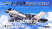 LS-011 Meng 1/48 Lockheed Martin F-35 Lightning II Fighter Royal Netherlands Air Force