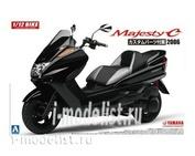 05441 Aoshima 1/12 Yamaha Majesty C with Custom Parts