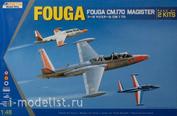 K48051 Kinetic 1/48 Fouga CM.170 Magister double kit