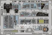 FE532 Eduard 1/48 Цветное фототравление для F-4C interior S. A.