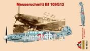48702 AMG Models 1/48 Самолет Bf109G-12 ранний