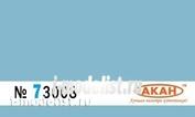 73008 Акан Краска водорастворимая Голубой окраска нижних поверхностей на камуфлированных самолётах: М&Г: 21;23;25р;25рб;27;  Суххой-:15;17;25;27