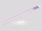70173 Tamiya Пластиковые стержни (квадратные белые матовые) 1х1мм длиной 40см (10шт)