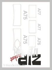 63009 ZIPMaket 1/35 Painting masks GUS-AA, AAA (Zvezda 3547, 3602)