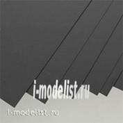 P001 models World 1 sheet 0.5 mm (White) + 1 sheet 1.0 mm (Black) size 15x30cm