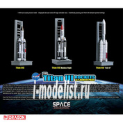 56395 Dragon 1/400 Ракеты Titan Rockets с пусковыми площадками