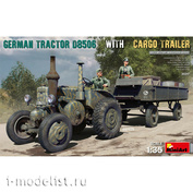 35317 MiniArt 1/35 German tractor D8506 with trailer