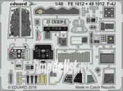 491012 Eduard 1/48 Фототравление для F-4J интерьер