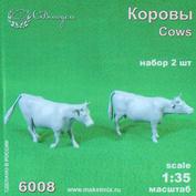 6008 СВмодель 1/35 Фигурки Коровы 2 шт.