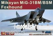 88003 AMK 1/48 Mikoyan MIG-31 Foxhound